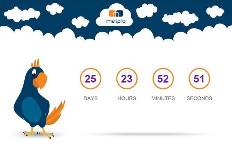 Countdown-Timer in Newslettern