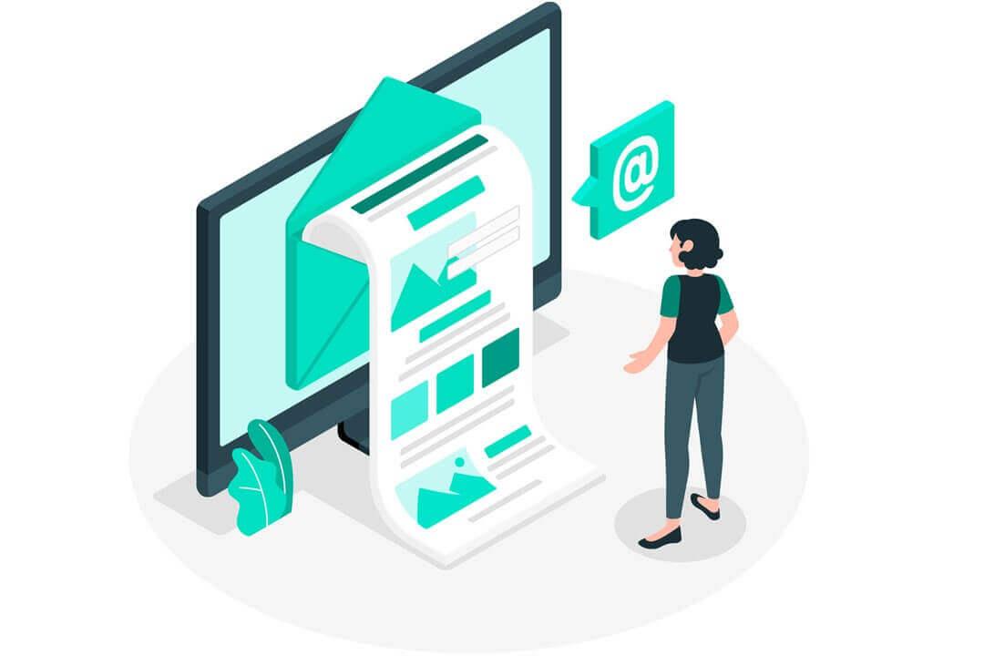 Die Bedeutung des Verhältnisses von Bild zu Text in Newslettern