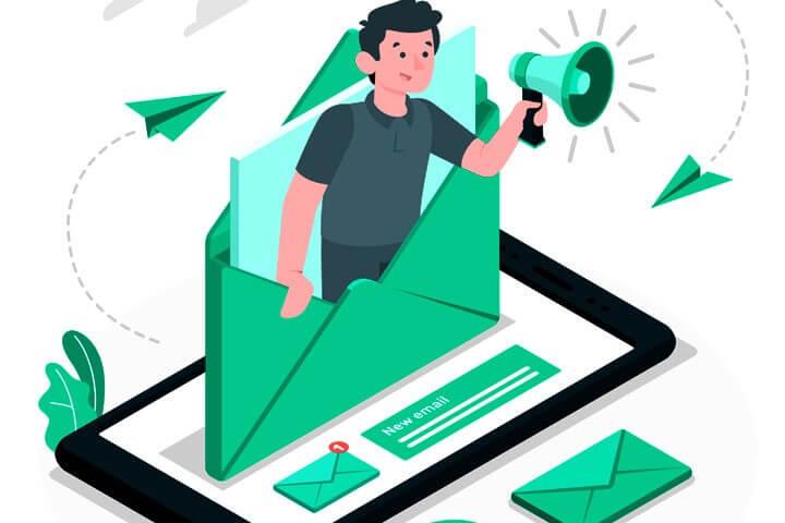 Meilenstein E-Mailing für treue Kunden