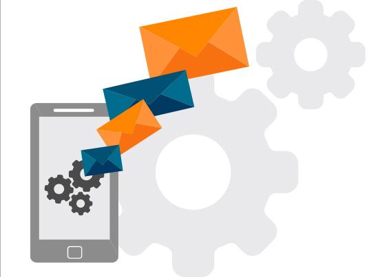 Versenden Sie automatische SMS  mit Mailpro