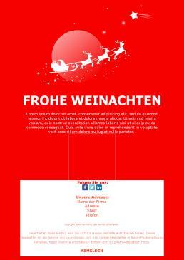 Email Frohe Weihnachten.Frohe Weihnachten Newsletter Vorlagen Mailpro