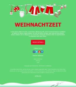 E Mail Weihnachtsgrüße Vorlagen.Frohe Weihnachten Newsletter Vorlagen Mailpro